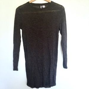 Light knit sweater dress